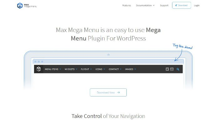 Creare menu su WordPress con il plugin Max Mega Menu