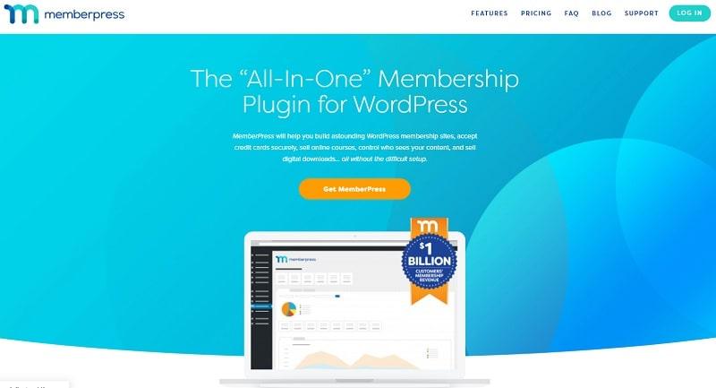 Memberpress per creare sito con area riservata