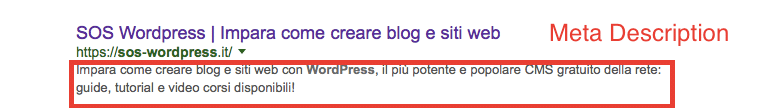 Come usare le Meta Description
