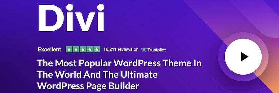 Migliori temi WordPress - Divi