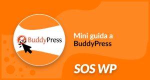 Mini guida a BuddyPress