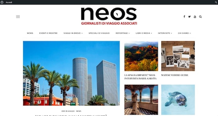 Neosnet.it - Blog realizzato da SOS WP™