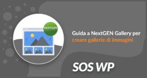 Guida a NextGEN Gallery