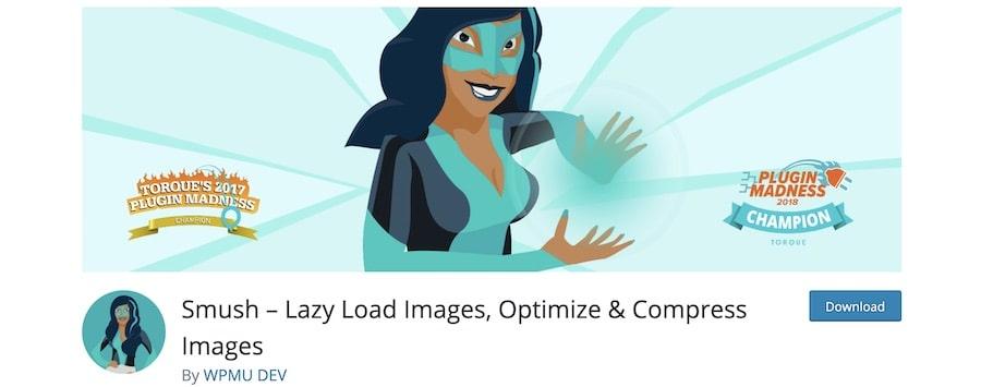 Ottimizzare le immagini con i plugin - WP Smush