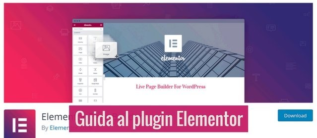 Guida al plugin Elementor visual Page Builder