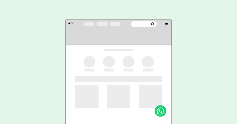 Spoki - pulsante chat via WhatsApp