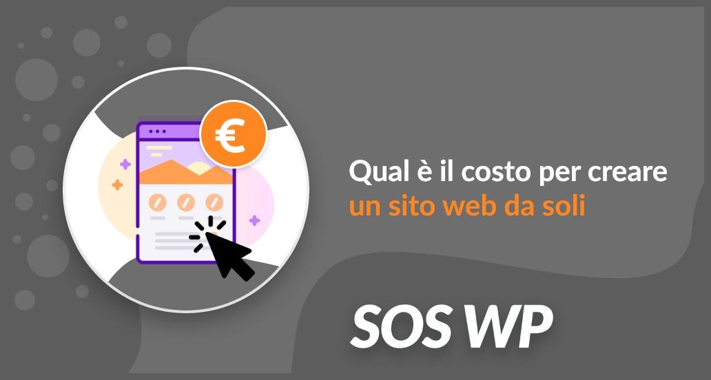 Qual è il costo per creare un sito web da soli