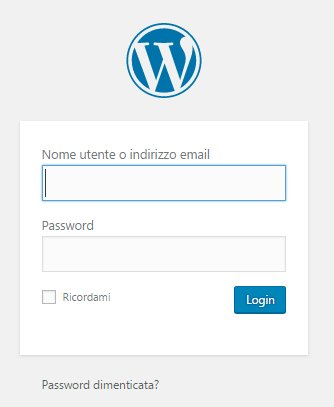 Recupero password dimenticata su WordPress