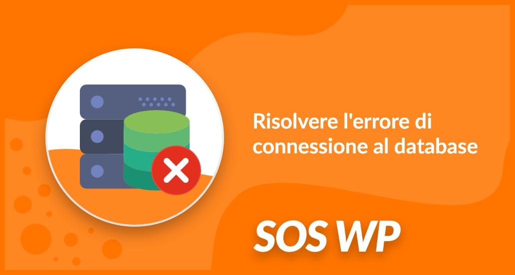 Risolvere l'errore di connessione al database