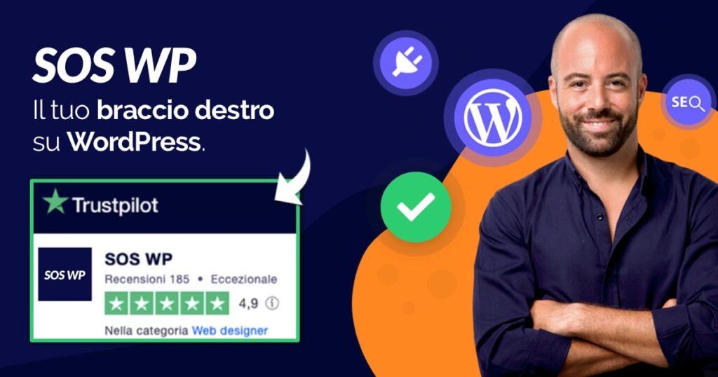 SOS WP è il tuo braccio destro su WordPress