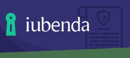 SOS WP raccomanda per il tuo sito WordPress Iubenda