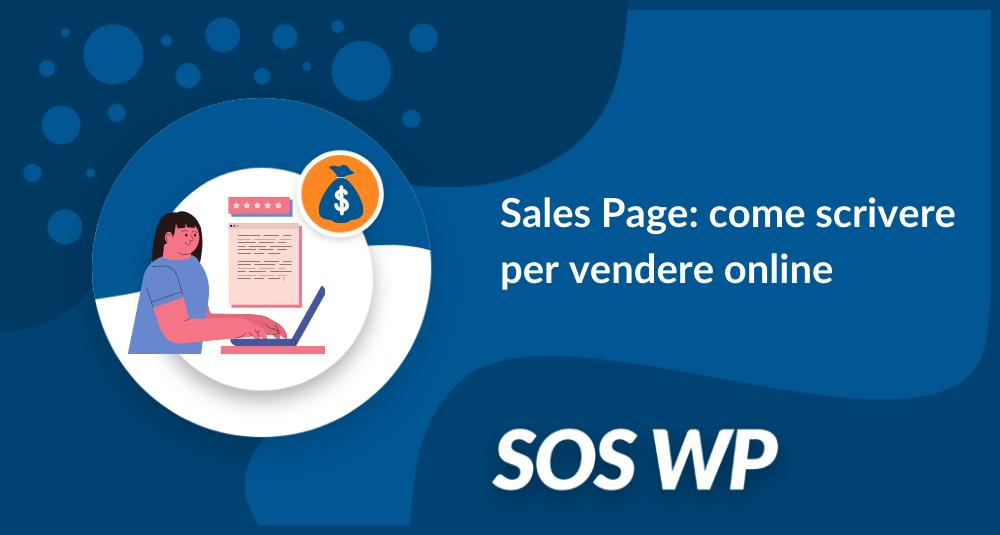 Sales Page come scrivere per vendere online