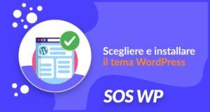 Scegliere e installare il tema WordPress