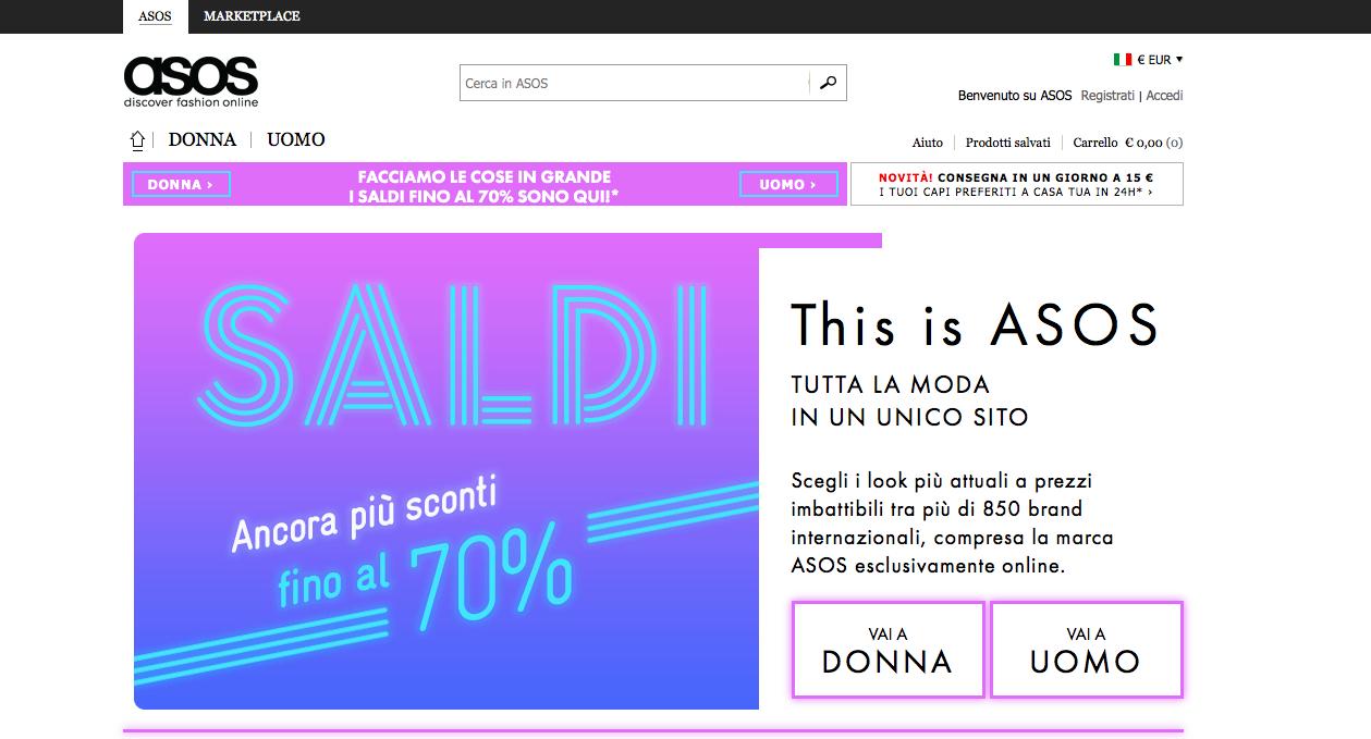 Acronimo sito ecommerce