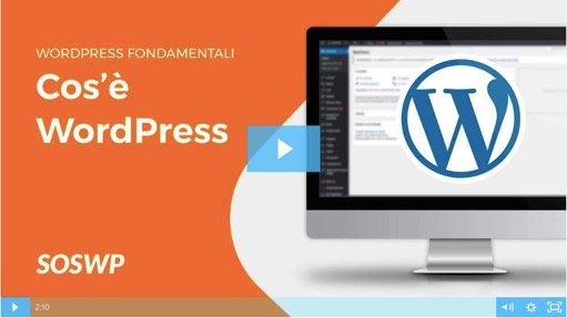 Corso Fondamentali di WordPress