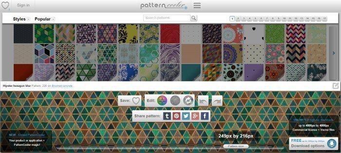 pattern cooler sfondi per siti web