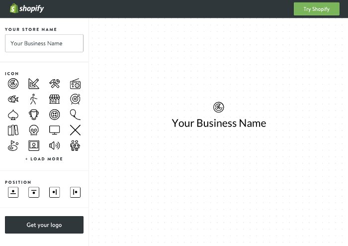 Come creare un logo - Shopify Logo Maker