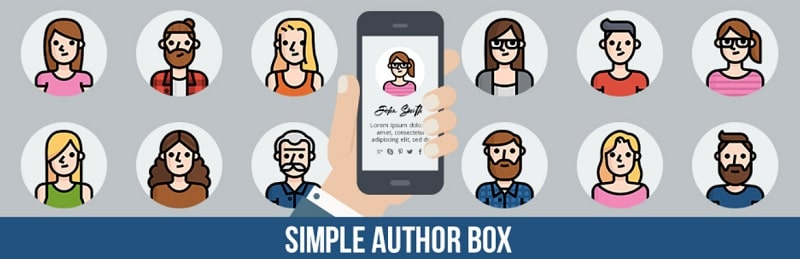 Simple Author Box - per metter box autore su WordPress