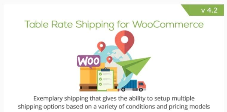 9. Table Rate Shipping for WooCommerce - plugin per calcolare costo spedizione