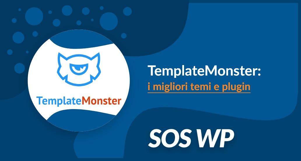 TemplateMonster: i migliori temi e plugin per WordPress