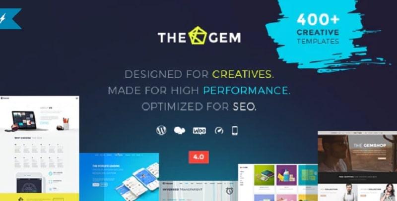 The Gem - tema per siti aziendali su WordPress