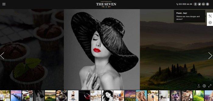 The7 - sito di fotografia