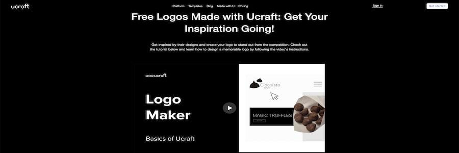 Logo Maker by Ucraft