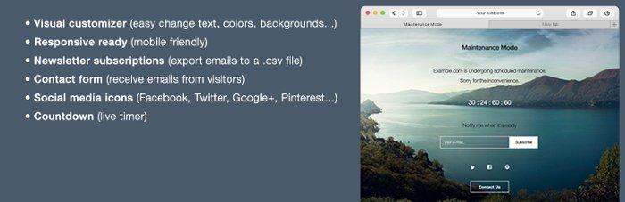 Maintenance Mode per metter il tuo sito WordPress in manutenzione
