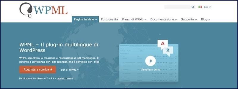 WPML - plugin per multilingua
