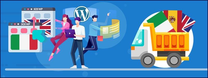WordPress multilingua - strumenti di traduzione