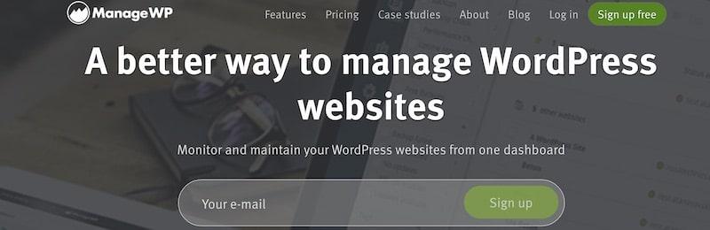 WordPress plugin - ManageWP