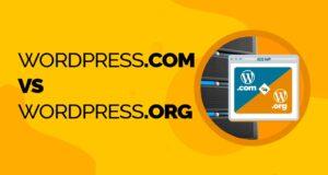 WordPress.com VS WordPress.org tutte le principali differenze