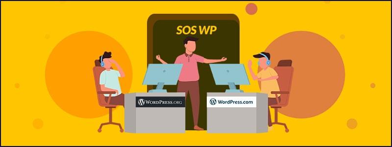 WordPressorg e WordPresscom- tutte le differenze più importanti