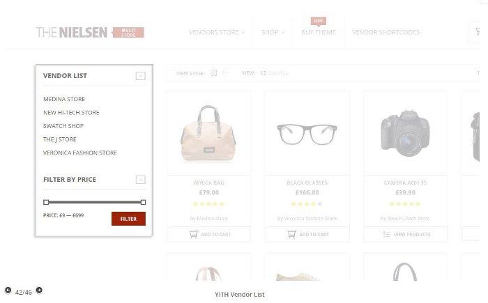 Esempio sito multi vendor con WordPress