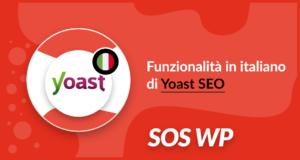 Funzionalità in italiano di Yoast SEO