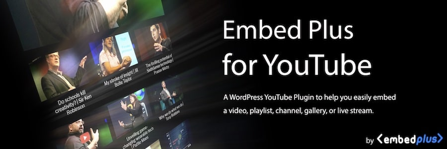 YouTube by EmbedPlus