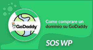 Acquistare un dominio su GoDaddy
