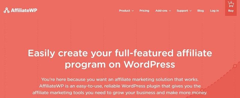 Affiliate WP per un programma di affiliazione con WordPress