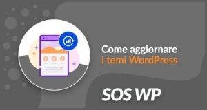 Come aggiornare i temi WordPress