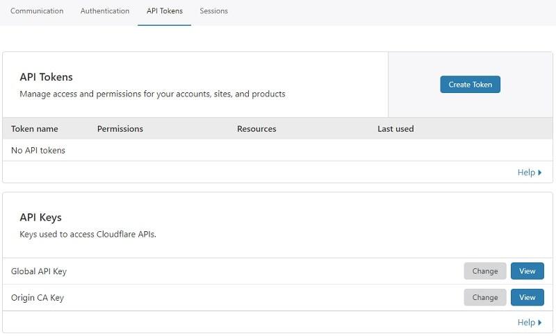 API Cloudflare per usare CDN con plugin