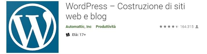 App mobile per WordPress
