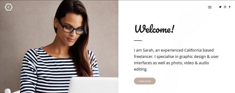 autore sito portfolio