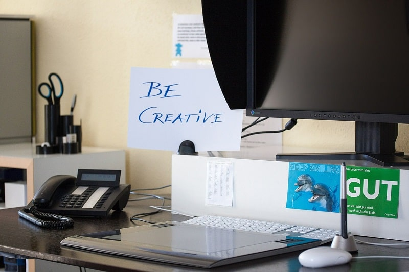 Creatività titolo blog