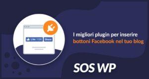 Plugin WordPress bottoni Facebook per blog