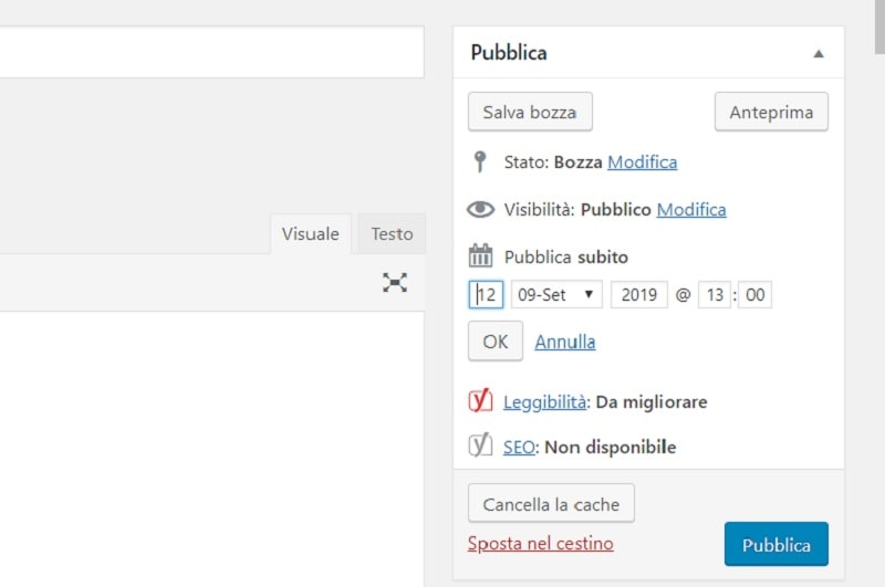 box pubblica wordpress