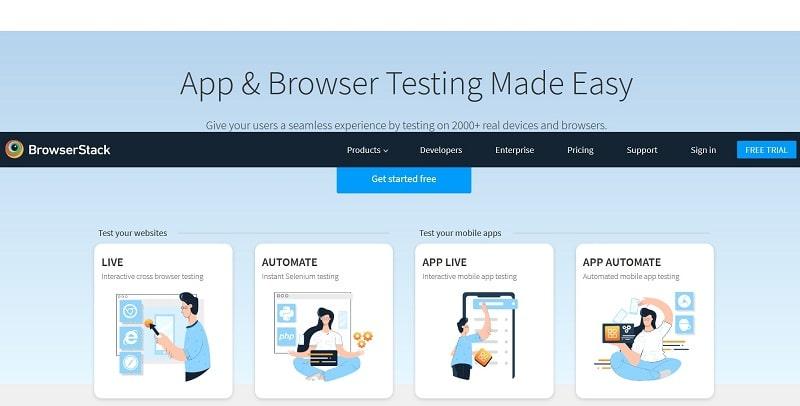 Browserstack per testare la compatibilità fra browser