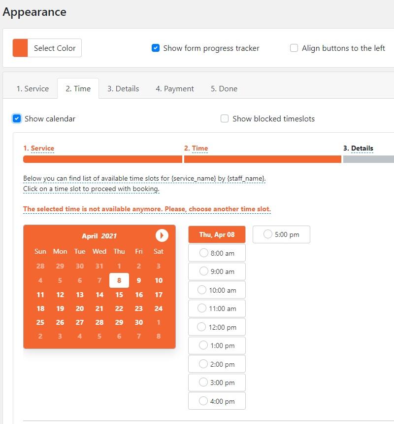 Plugin Bookly WordPress prenotazioni e appuntamenti