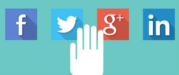 Creazione pagine social e collegamento al sito