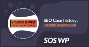 SEO Case history: Riccardo Di Gasparro