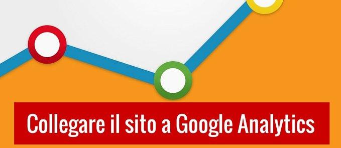 collegare il sito a google analytics